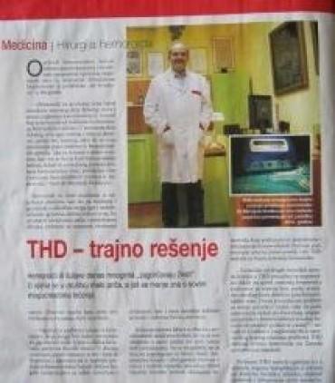 THD - trajno rešenje za hemoroide