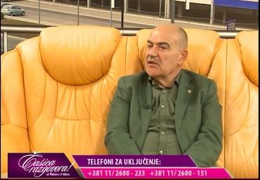Gostovanje Prim. dr Miroljuba Draškovića u emisiji Čašica razgovora na TV KCN koja je emitovana 13.09.2018. godine.   Tema razgovora, lečenje hemoroida.